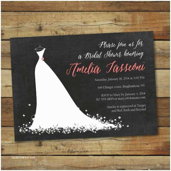 Etsy Wedding Shower Invitations Etsy Digital Bridal Shower Invitations