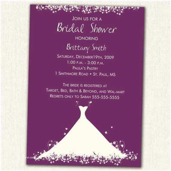 Etsy Wedding Shower Invitations Floral Bridal Shower Invitations Etsy
