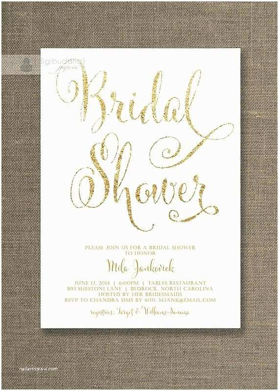 Etsy Wedding Shower Invitations Gorgeous Floral Bridal Shower Invitations Wedding