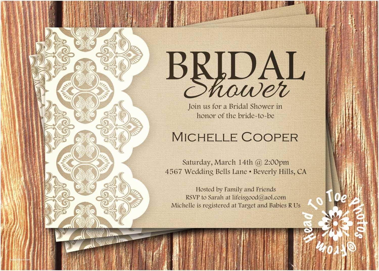 Etsy Wedding Shower Invitations Shabby Chic Bridal Shower Invitations By