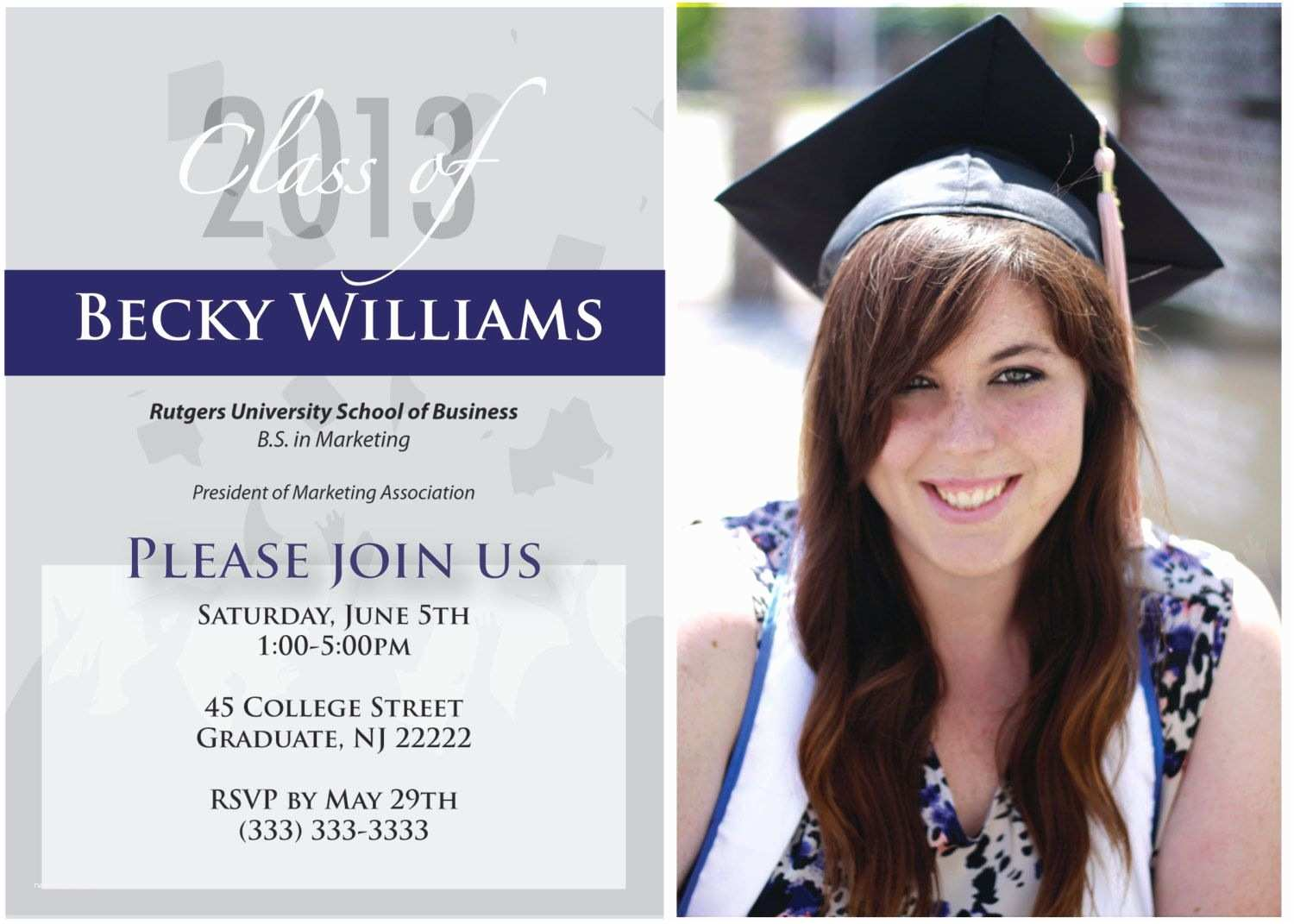 Examples Of Graduation Invitations Graduation Invitations with Quotes Google Search