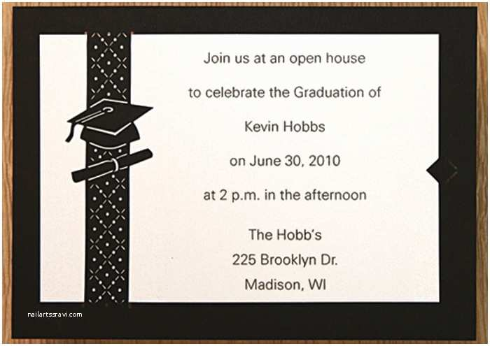 Examples Of Graduation Invitations Graduation Party Invitations