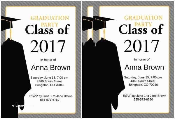 Examples Of Graduation Invitations Sample Graduation Invites Gseokbinder