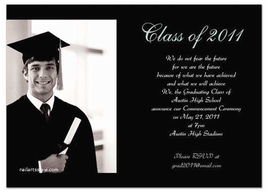 Examples Of Graduation Invitations Sample Invitation Graduation Card – orderecigsjuicefo
