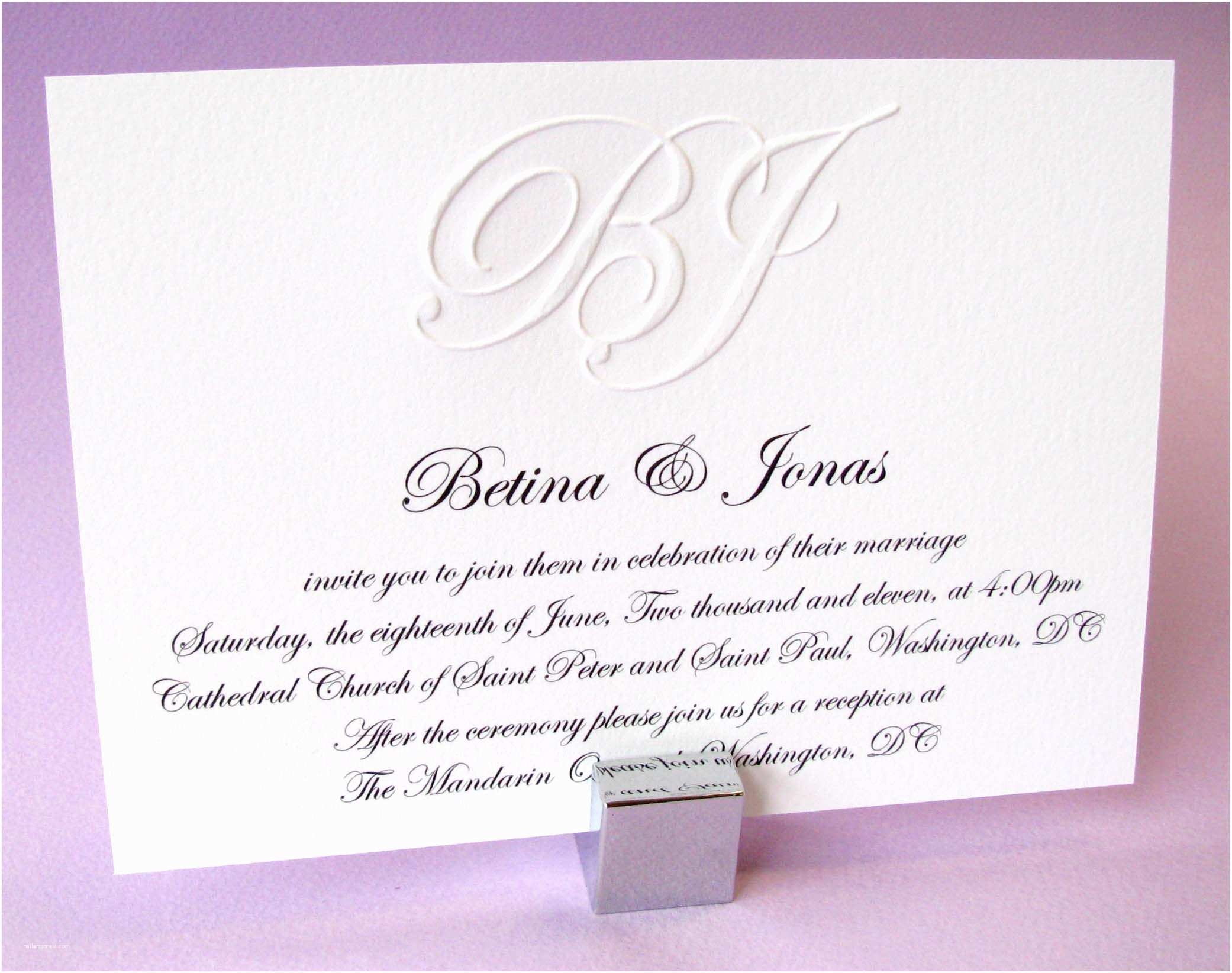 Examples Of Wedding Invitations Creating A Great formal Wedding Invitation Wording