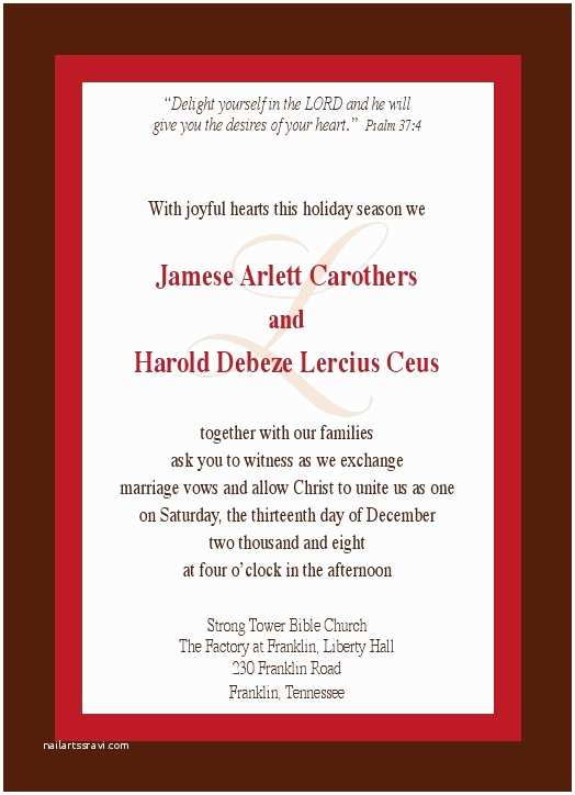 Examples Of Wedding Invitations Wedding Invitation Samples