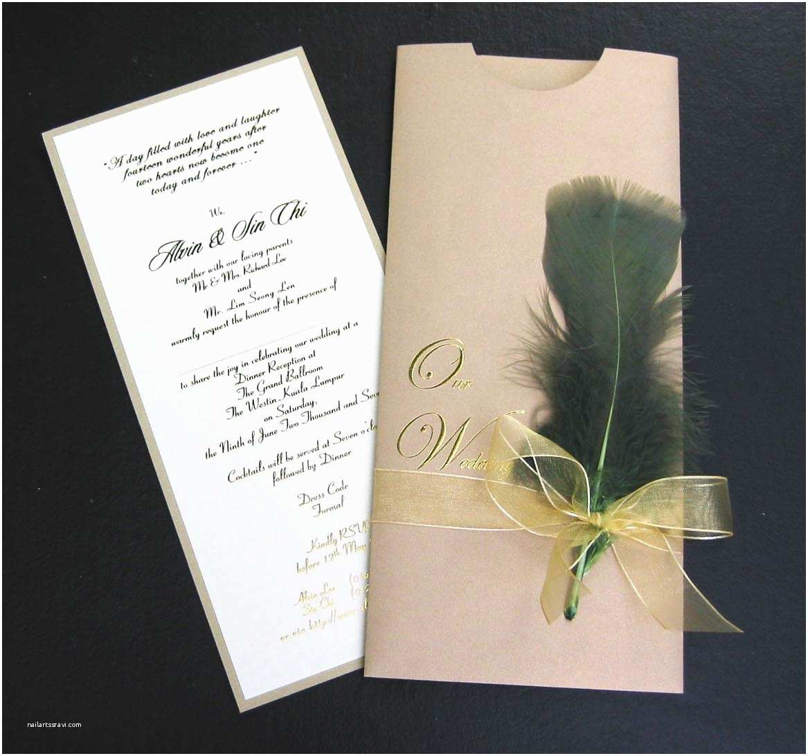 Expensive Wedding Invitations Most Expensive Wedding Card Invitation In the World