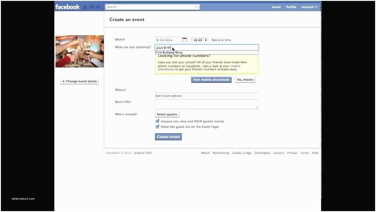 Facebook Party Invite Invitations Template Resume Builder