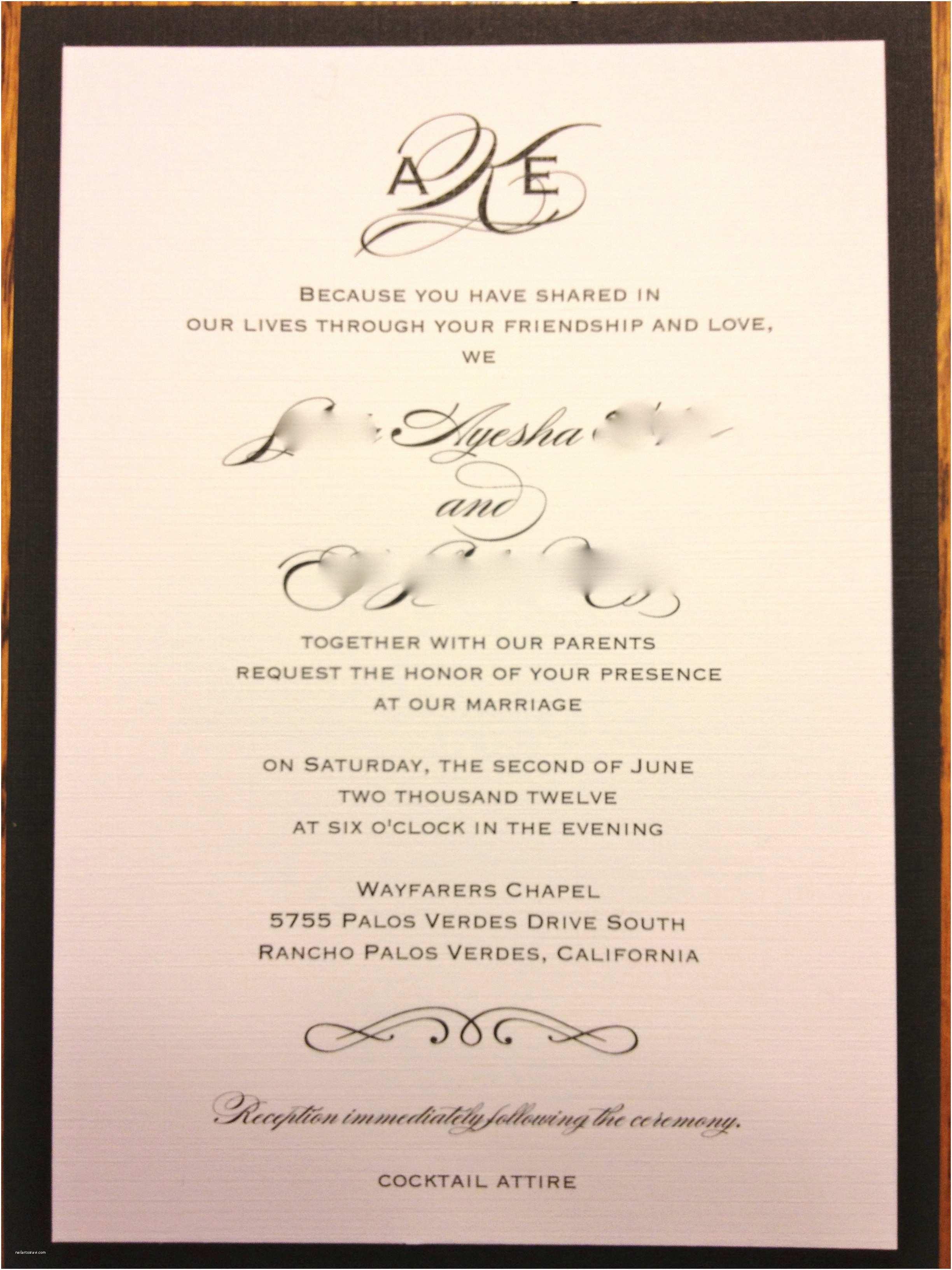 Facebook Wedding Invitation Inspirational Wedding Invitation Wording for Friends In