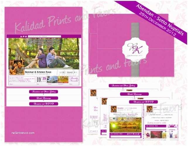 Facebook Wedding Invitation Wedding Invitation Sms Archives