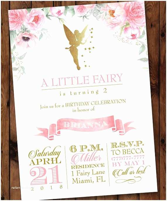 Fairy Birthday Invitations Best 25 Fairy Invitations Ideas On Pinterest