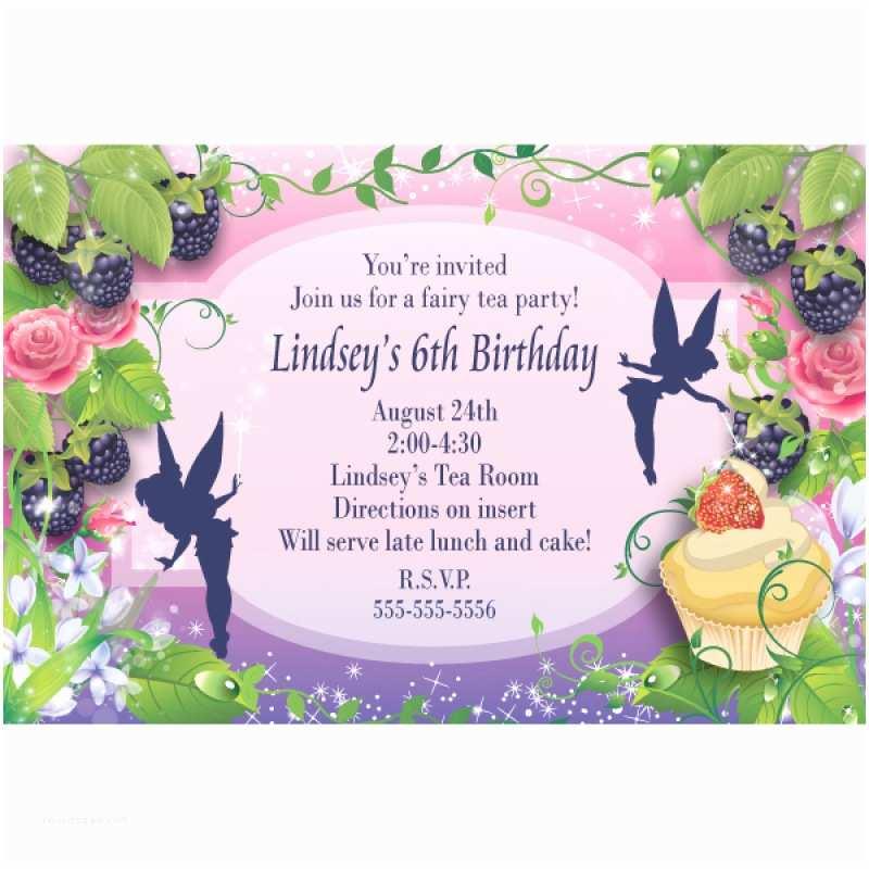 Fairy Birthday Invitations Fairy Birthday Invitation Template Free – orderecigsjuicefo