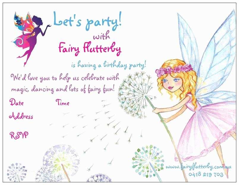Fairy Birthday S Fairy Party