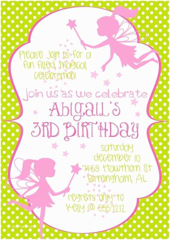 Fairy birthday invitations best 25 fairy invitations ideas on fairy birthday invitations fairy princess birthday party invitation in by filmwisefo