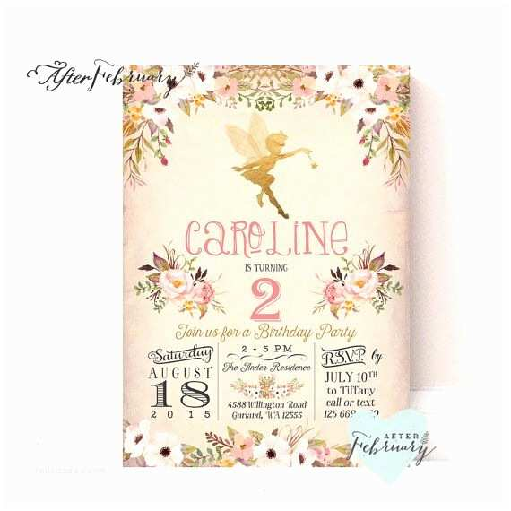 Fairy Birthday Invitations Hey I Found This Really Awesome Etsy Listing at S