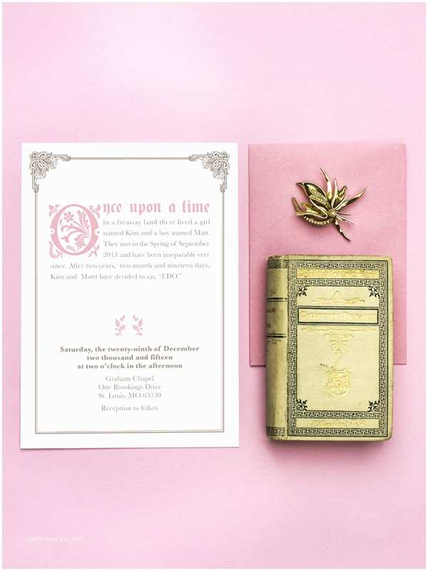 Fairy Tale Wedding Invitations Ce Upon A Time Fairy Tale Wedding Invitation Printable