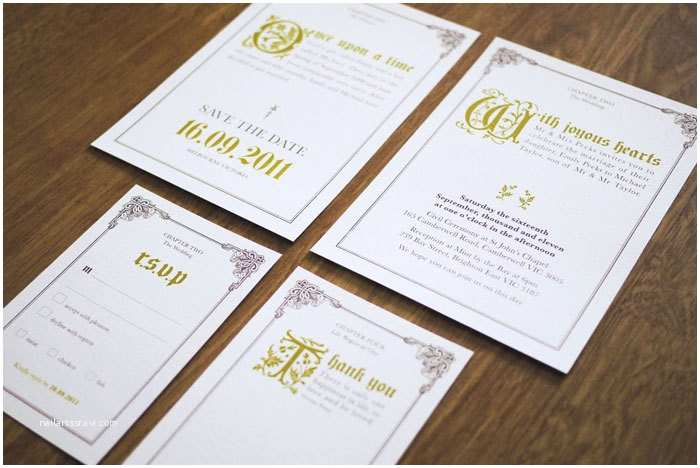 Fairy Tale Wedding Invitations Fairy Tale Ce Upon A Time Wedding Invitation Suite