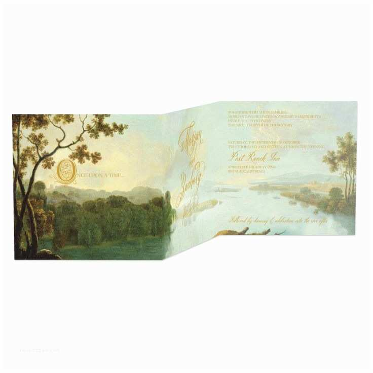 Fairy Tale Wedding Invitations Fairy Tale Romance Signature White Wedding Invitations