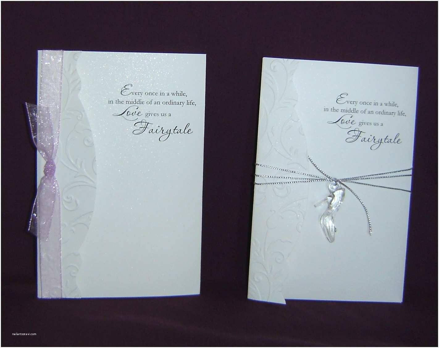 Fairy Tale Wedding Invitations Fairy Tale Wedding Invitation