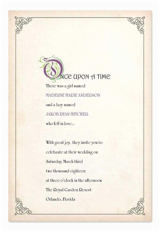 Fairytale Wedding Invitations Best 20 Fairytale Wedding Invitations Ideas On Pinterest
