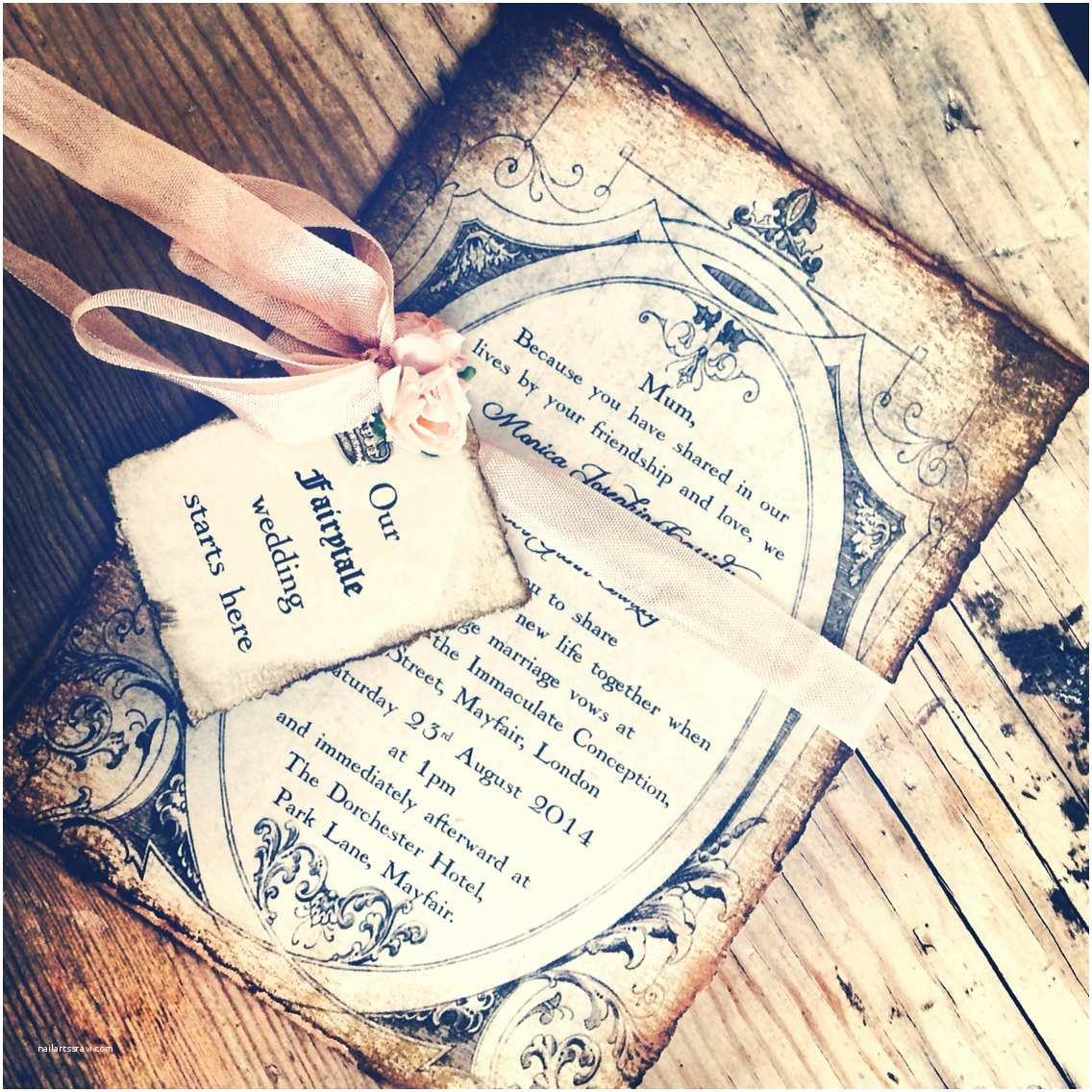 Fairytale Wedding Invitations Invitations Fairytale Wedding by Shabbyscrap Invitation