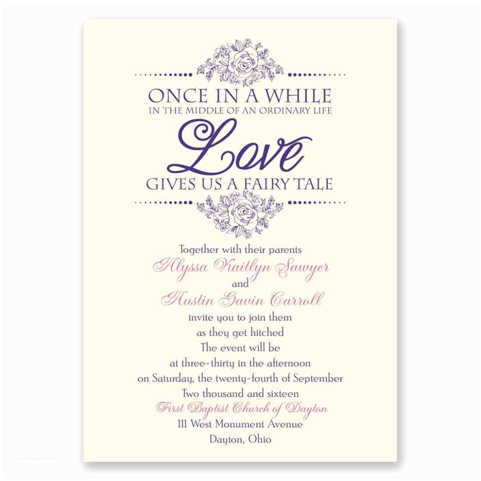 Fairytale Wedding Invitations Wedding Invitation Templates Fairytale Wedding Invitations
