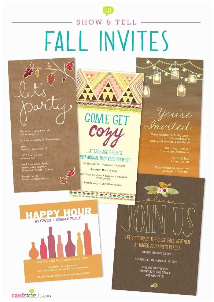 Fall Birthday Invitations 1000 Ideas About Fall Party Invitations On Pinterest