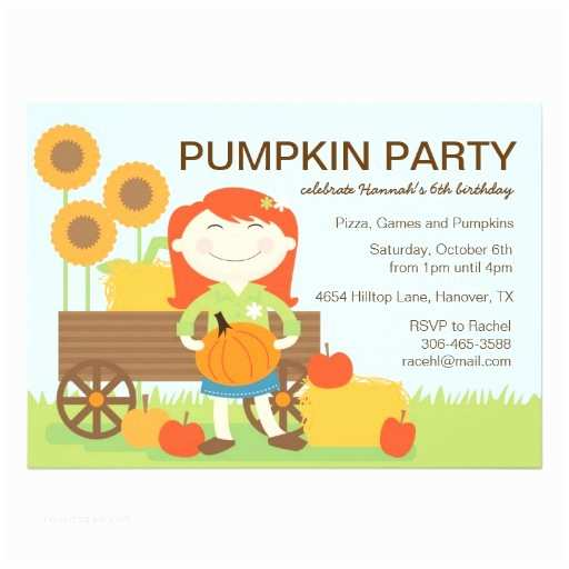 Fall Birthday Invitations Fall Birthday Party Invitation