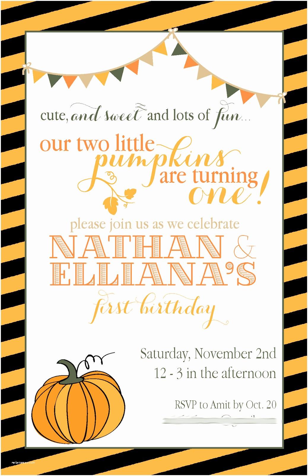 Fall Birthday Invitations Fall Party Invitations Template