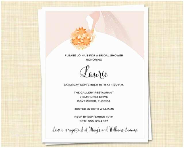 Fall Bridal Shower Invitations 20 Bridal Shower Invitations Fall Autumn Colors Autumn
