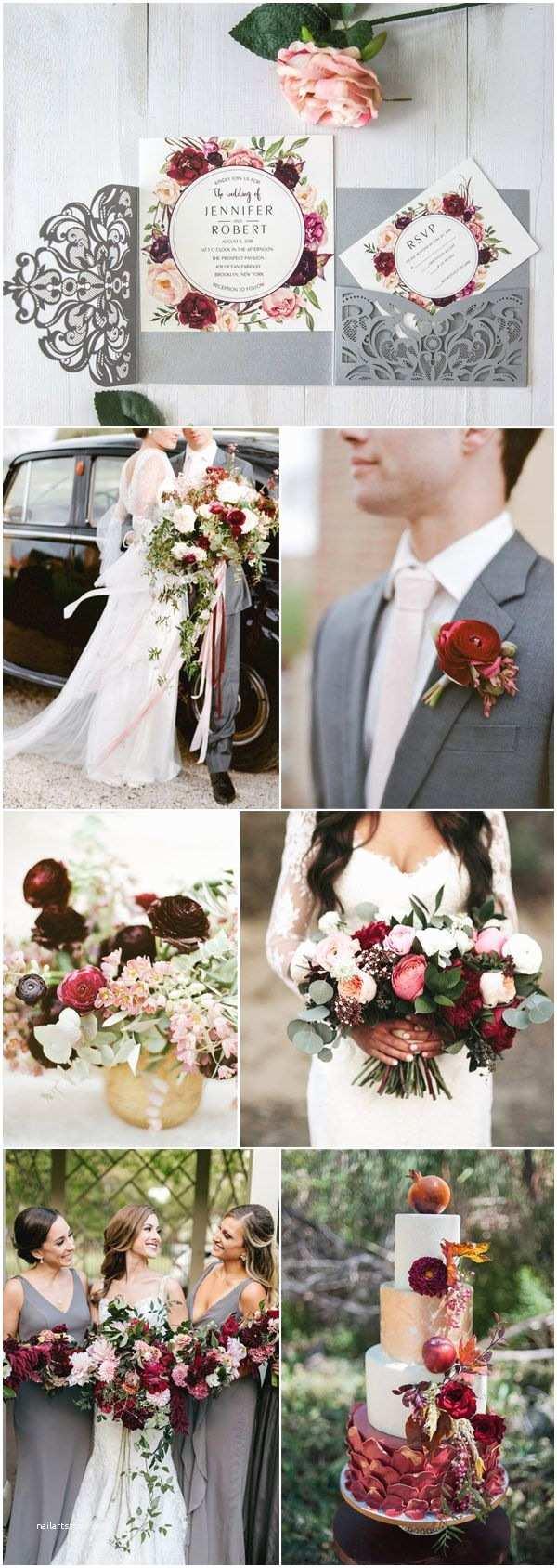 Fall Color Wedding Invitations Best 25 Grey Wedding Invitations Ideas On Pinterest