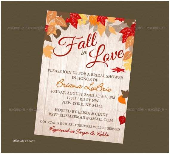 Fall In Love Wedding Invitations 1000 Images About Fall In Love Bridal Shower On Pinterest