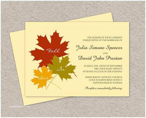 printable fall in love wedding
