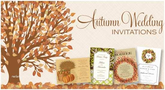 Fall themed Wedding Invitations Autumn Wedding Invitations Autumn Wedding Invitations