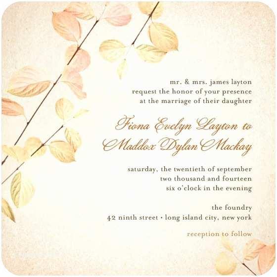 Fall themed Wedding Invitations Cheap Fall Wedding Invitation Ideas Wedding Invitation Stores