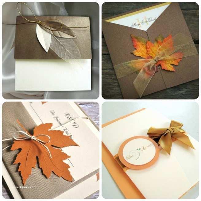 wedding invitations for fall