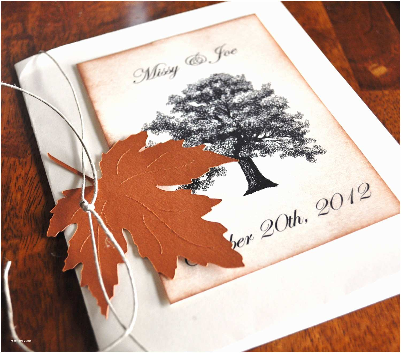 Fall themed Wedding Invitations Custom Fall Wedding Invitations Fall Wedding by