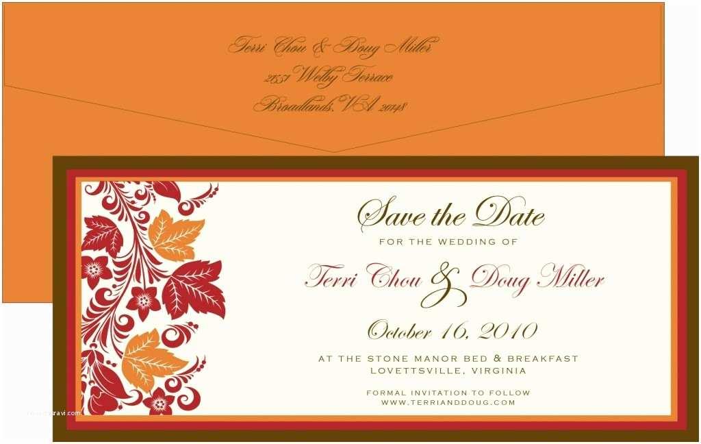 Fall themed Wedding Invitations Utah events by Design Autumn themed Weddings
