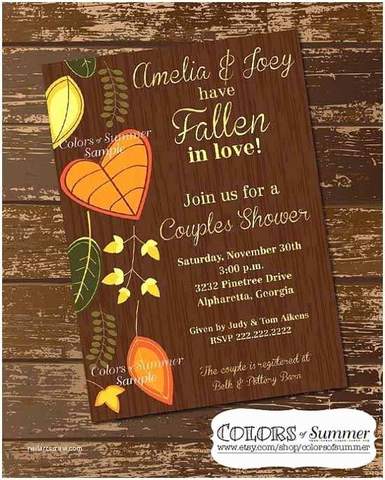 Fall themed Wedding Shower Invitations 20 Lovely Bridal Shower Invitation Ideas Random Talks