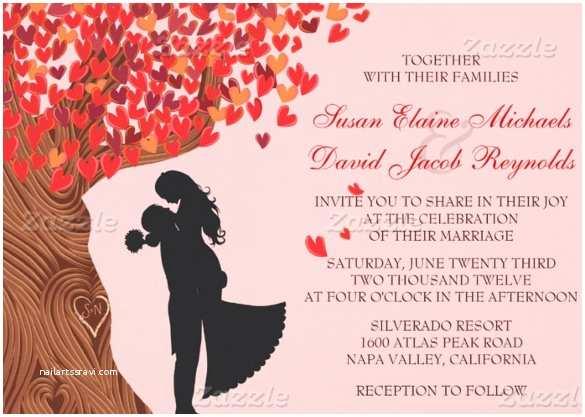 Fall Wedding Invitation Templates Fall Wedding Invitation Template – 15 Psd formats