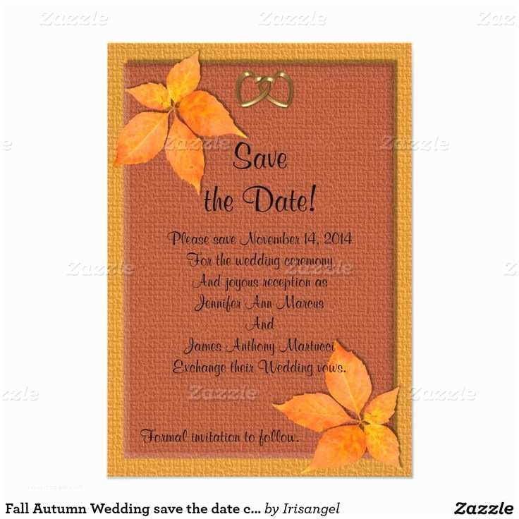 Fall Wedding Invitations and Rsvp Cards 43 Best Autumn Wedding Invitations Images On Pinterest