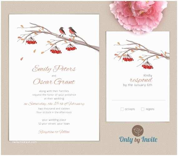 Fall Wedding Invitations Cheap Fall Wedding Invitation Kits Personalized Wedding