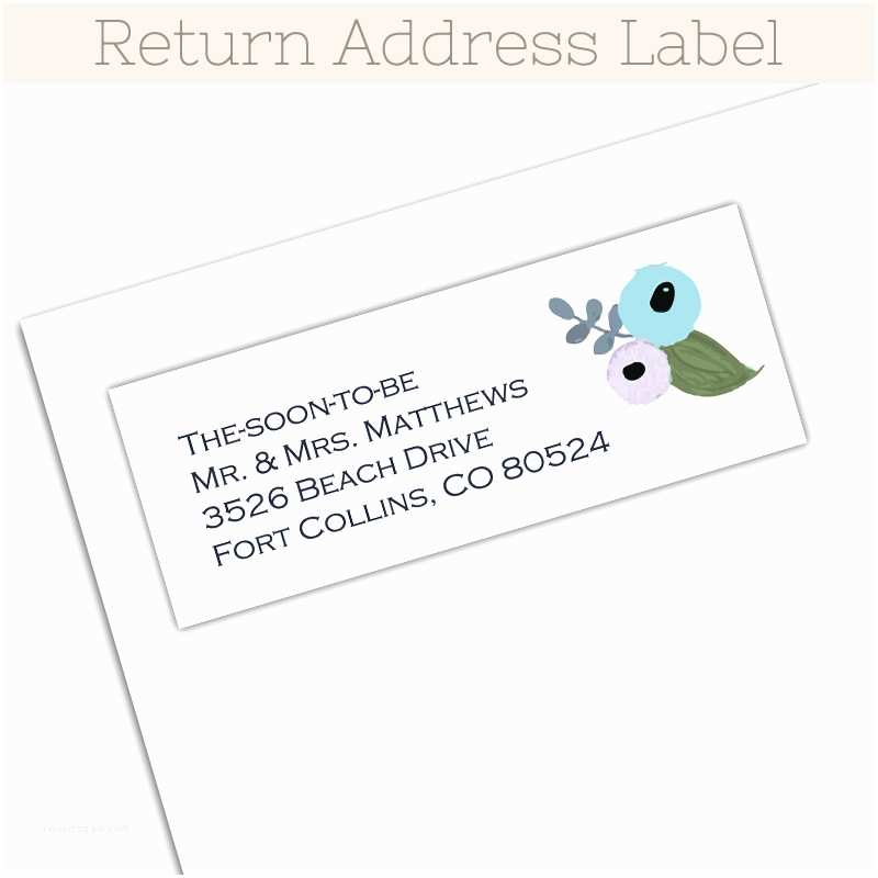 Fancy Address Labels for Wedding Invitations Garden Fancy Blue Invitation Stack the Print Cafe