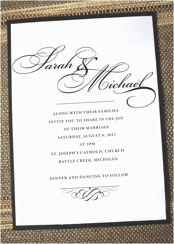 Fancy Wedding Invitations Elegant Wedding Invitations formal Wedding Invites