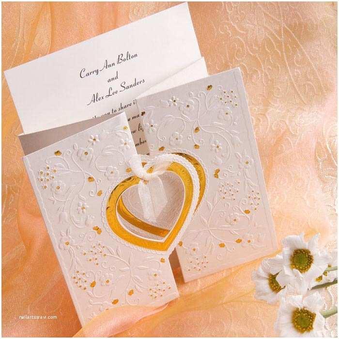 Fancy Wedding Invitations Unique and Elegant Hearts Affordable Wedding Invitations