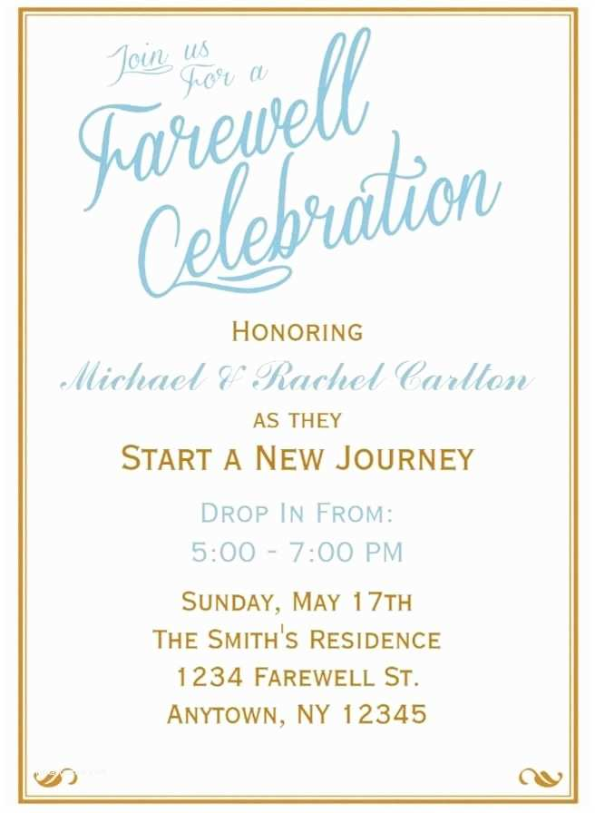 Farewell Party Invitation Best 25 Farewell Invitation Ideas On Pinterest