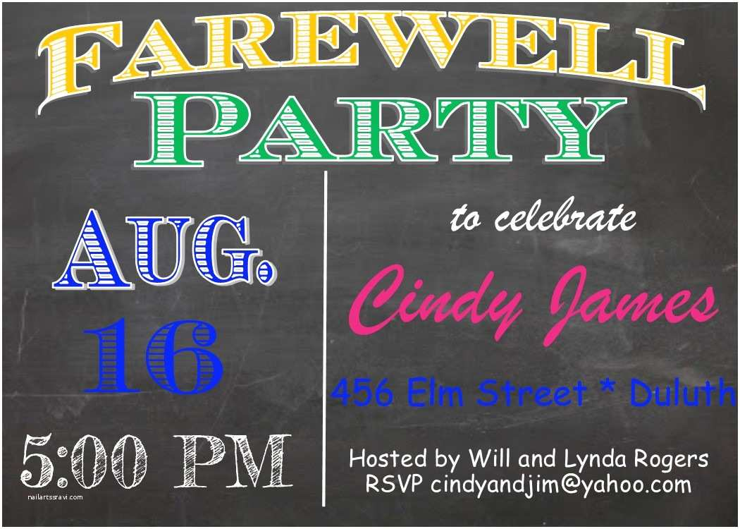 adult party going away