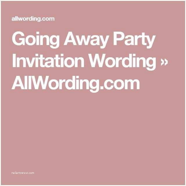 Farewell Party Invitation Wording 25 Best Ideas About Farewell Invitation On Pinterest