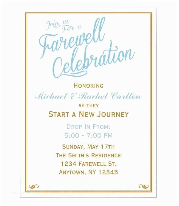 Farewell Party Invitation Wording 6 Farewell Dinner Invitations Jpg Vector Eps Ai