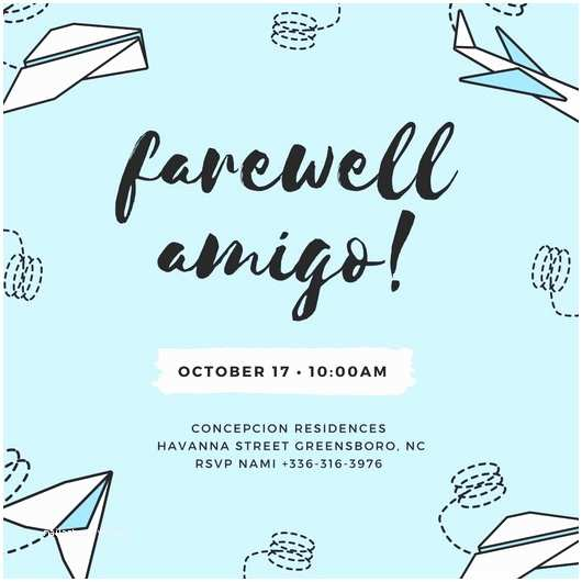 Farewell Party Invitation Wording Customize 3 998 Farewell Party Invitation Templates